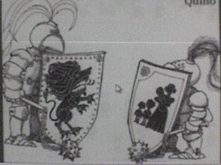 Charge de Quino (autor da tirinha da Mafalda)
