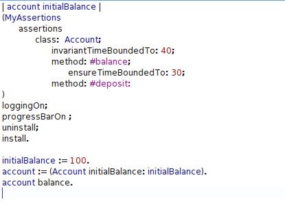 invariant-time-bound