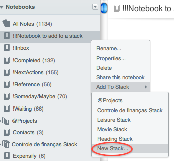 web-evernote-stack-creation