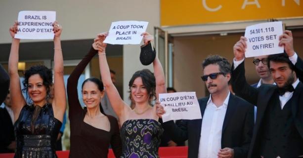 Aquarius em Cannes