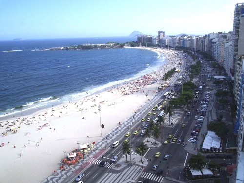 004-Copacabana Beach, Rio de Janeiro, Brazil