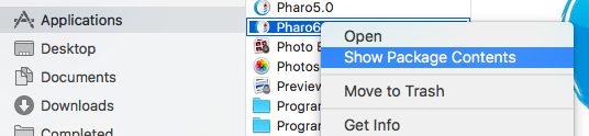 pharotut-Show Package Contents selected